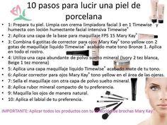 DIEZ PASOS PARA LUCIR UNA PIEL DE PORCELANA Facebook/Ilumina tu Belleza con Mary Kay