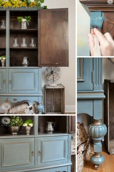 The Millionaire's Daughter Vintage Cabinet | Giveaway | Salvaged Inspirations