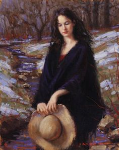 Winter bows to Spring by Bryce Cameron Liston