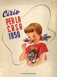 Agenda Cirio per la casa - 1950 #cirio  www.cirio.it