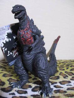 New Shin Godzilla Movie Monster Series Godzilla 2016 Limited Japan F/S #Bandai