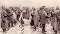 During the first Christmas Day of the First World War, something magical happened as German and British soldiers struck up a spontaneous truce in Flanders Fields.