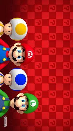 Mario Univers by Nintendo Super Mario Party, Super Mario Bros, Super Mario Kunst, Super Mario Birthday, Mario Birthday Party, Super Mario World, Super Mario Brothers, Super Smash Bros, Wallpaper Nintendo
