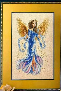 FREE CROSS STITCH CHARTS: ANGEL