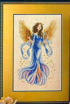FREE CROSS STITCH CHARTS: ANGEL