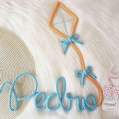 Wire Letters, Baby Staff, Spool Knitting, Wire Crafts, Letter Wall, Cute Diys, Plant Design, Wire Art, Baby Room Decor