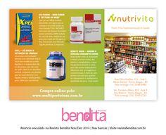 DICA BENDITA PARA MANTER A FORMA Já conferiu as novidades em suplementação da Nutri Vita e NutriVita Protásio Alves (www.multiproteinas.com.br)? Então, aproveite e visite uma das lojas em Porto Alegre.