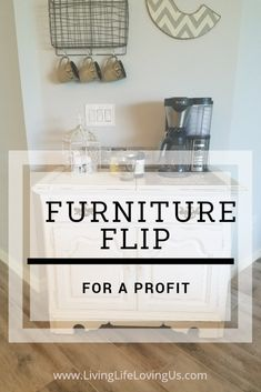 Vintage Furniture How to Flip Furniture for a Profit - The basic of flipping furniture for profit - the ultimate side hustle. Includes everything from how and where to find furniture to how to refinish them. Flip Furniture For Profit, Diy Furniture Flip, Refurbished Furniture, Repurposed Furniture, Furniture Projects, Vintage Furniture, Cool Furniture, Furniture Removal, Bedroom Furniture