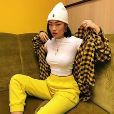 🦋 The Effective Pictures We Offer You About tomboy outfits kids A quality picture can tel Tomboy Outfits, Goth Outfit, Teenage Outfits, Chill Outfits, Dope Outfits, Retro Outfits, Trendy Outfits, Fashion Outfits, Yellow Outfits