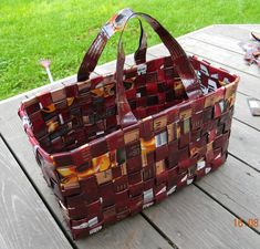 Recycled Crafts, Diy And Crafts, Recycling, Basket, Bags, Home Decor, Baskets, Totes, Manualidades