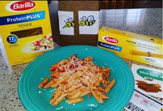 Protein Plus Barilla #gotitfree to try from #bzzagent. No meat but protein.