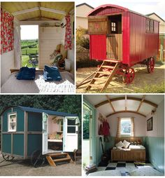 Live, Life, Love and Laughter: shepherd's hut hideaway