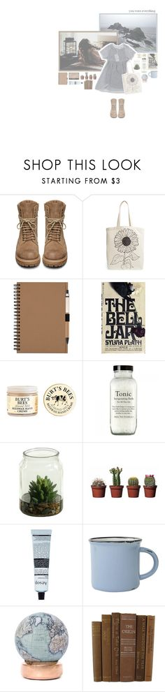 """// cathy come home. //"" by sadfaerie ❤ liked on Polyvore featuring My Mum Made It, Rick Owens, Tri-coastal Design, Burt's Bees, NARS Cosmetics, Aesop, canvas and Bellerby & Co"