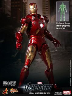 Sideshow Collectibles - Iron Man Mark VII Sixth Scale Figure
