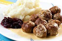 Gluten and Dairy Free Scandinavian Meatballs