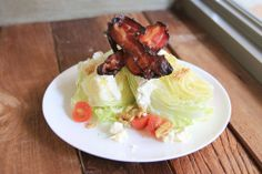 Wedge Salad with Bacon and Nuts