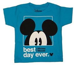 Disney Mickey Mouse Best Day Ever Boys Youth T-shirt