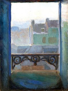 View of Montmartre - Thorvald Erichsen .....
