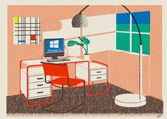 What We're Seeing: Architectural illustrations by Leoni Bos | Journal | The Modern House