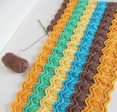 Free Pattern Stitch of crochet Afghan - Free Crochet Patterns