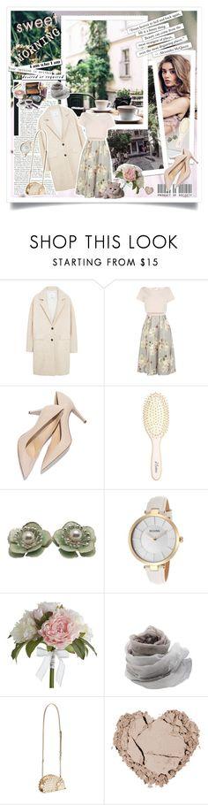 """#398"" by monazor ❤ liked on Polyvore featuring MANGO, Coast, L. Erickson, Bulova, Pier 1 Imports, Faliero Sarti, Kate Spade, women's clothing, women's fashion and women"