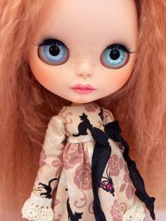 Custom Blythe Doll OOAK named Georgia with Special by EmmyB.lythe