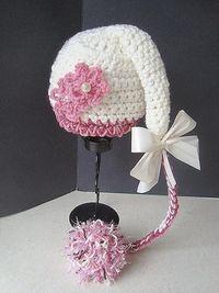 Sweet Potato Pixie Hat - Newborn to 12 months - hand crochet