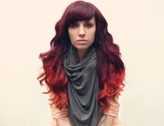 this is happening when my hair grows out again! love this color!