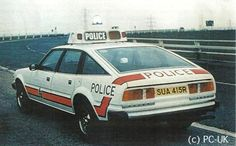 West Yorkshire Constabulary Rover 3500 SD1, resplendent in its unusual graphics