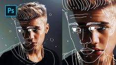 How to Create Outline Portrait Effect in Photoshop – Tutorials – Best presets for lightroom How to Create Outline Portrait Effect in Photoshop – Tutorials – Best presets for lightroom,Design Tools How. Photoshop Design, Tuto Photoshop Cs6, Photoshop Tutorials Youtube, Photoshop Brushes, Photoshop Actions, Adobe Photoshop, Photoshop Face, Video Tutorials, Photoshop Express