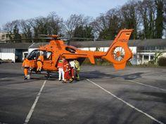 FW Ratingen: Schwerer Betriebsunfall - Rettungshubschrauber im Einsatz