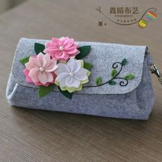 Sewing Art Felt Diy Craft Cherry Hand Bag Size Handmade Free Cutting Felt Material DIY Package - Gardening - Home Decor - Wedding - Women's Fashion - Diy and Crafts Felt Diy, Felt Crafts, Diy Crafts, Handmade Tags, Etsy Handmade, Sewing Art, Sewing Crafts, Bags Sewing, Sewing Projects