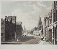 High Street, Looking West, 1814