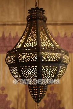 How About This For Over The Stairs? I Wonder How Bright It Is.. Moroccan  ChandelierMoroccan ...