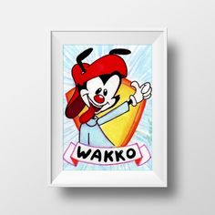 Wakko from Animaniacs - Artist Card from Alyssa M Torres for $5.00