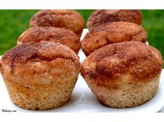 Cinnamon Doughnut Muffins   omg this looks so easy i might actually be able to do it!