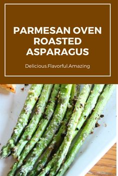 A delicious asparagus recipe that will go great with pizza (yes, pizza!)