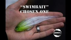 """Fly Tying: Swimbait Chosen One - 4"""" Weedless Baitfish - YouTube Fly Fishing For Bass, Pike Flies, Fly Tying, Trout, Tie, Youtube, Brown Trout, Cravat Tie, Ties"""