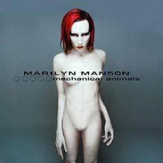 Marilyn Manson - (Full Album) [HD] Tracklist: Great Big White World - The Dope Show - Mechanical Animals - Ro. Famous Album Covers, Rock Album Covers, Music Album Covers, Music Albums, Marilyn Manson, Aladdin Sane, Lps, Pochette Album, Great Albums