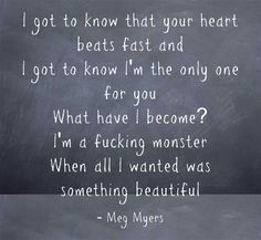 Monster - Meg Myers