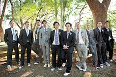 Mis-matched groomsmen -- likes it and doesn't mind tennis shoes either. Mismatched Groomsmen, Groomsmen Shoes, Wedding Types, Wedding Men, Suits And Sneakers, Wedding Inspiration, Wedding Ideas, Love Story, Wedding Decorations