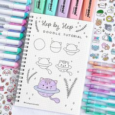 22 Simple Bullet Journal Doodle Tutorials for Beginners - # Beginners . 22 simple bullet journal doodle tutorials for beginners Bullet Journal Simple, Bullet Journal Writing, Bullet Journal 2019, Bullet Journal Ideas Pages, Bullet Journal Inspiration, Journal List, Simple Doodles, Cute Doodles, How To Doodles