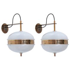 Ignazio Gardella Sconces | From a unique collection of antique and modern wall lights and sconces at https://www.1stdibs.com/furniture/lighting/sconces-wall-lights/
