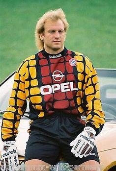 Sven Scheuer Bayern München 1995-96 seltenes Foto