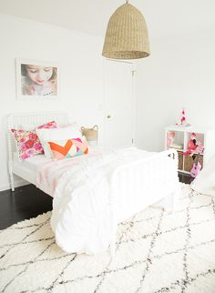 Superbe A Bright White U0026amp; Pink Little Girl Bedroom   Inspired By This Pink Girls  Bedrooms