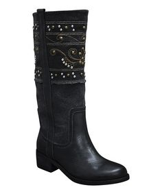 Another great find on #zulily! Black Collins Boot by Sbicca #zulilyfinds