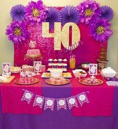 40th Birthday Party Celebration