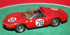 HAND BUILT 1/43 WHITE METAL ADB #28 FERRARI DINO 246 268 SP LE MANS 1962 MODEL #ADB #Ferrari