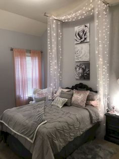 Teen Bedroom Decorations, Cheap Bedroom Decor, Bedroom Decor For Small Rooms,  Curtains For