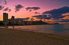 Dreaming of sunrises in Honolulu...